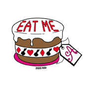 Mini Eat Me Sticker