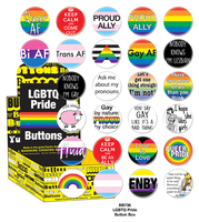 LGBTQ Pride Button Box
