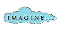 Imagine... Enamel Pin
