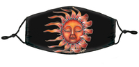DuBois Sleeping Sun Mask
