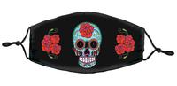 Sunny Buick Rose Sugar Skull Mask