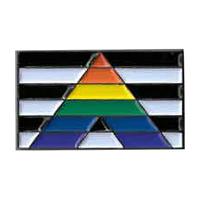 Ally Flag Enamel Pin