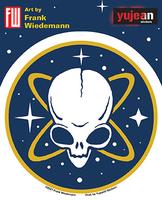 Wiedemann's Pirate Alien Sticker