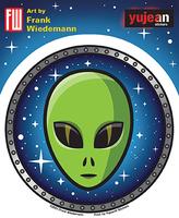 Wiedemann Space Alien Sticker
