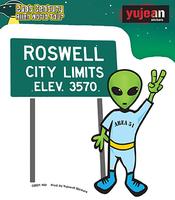 Roswell Alien Sticker