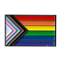 Progress Pride Enamel Pin