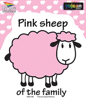 Pink Sheep Sticker