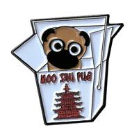 Moo Shu Pug Enamel Pin