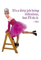 Dirty Job Pride Postcard