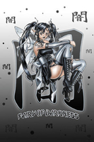 Fairy Of Darkness Postcard