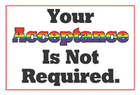 Your Acceptance Pride Postcard