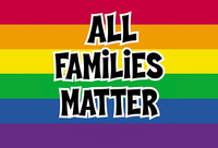 All Families Matter Pride Postcard