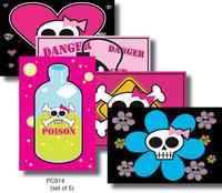 Sweet Fiend Skulli Postcard Pack