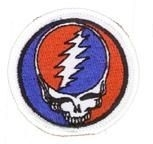 Grateful Dead Mini Steal Your Face Patch