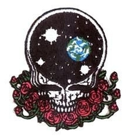 Space Your Face Grateful Dead Patch