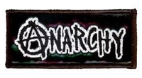 Anarchy Vinyl Patch