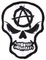 Anarchy Skull Patch