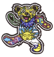 Dan Morris Grateful Dead Dancing Bear Patch