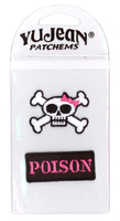 My Sweet Fiend Crossbones/Poison Mini-Patch Pak