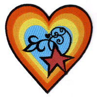 Reillly Heart and Star Patch