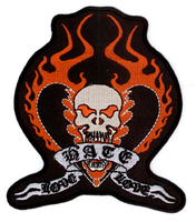Vulture Kulture Love Hate Love Biker Patch