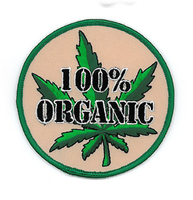 100% Organic Potleaf Patch | Patches