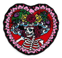 Flower Hat Sugar Skull Patch