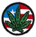 Mini American Flag Pot Patch
