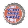 Want Some Candy Retro Button