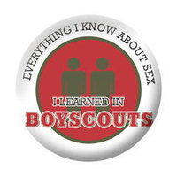 Boy Scouts Pride Button