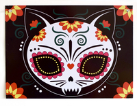 Evilkid Gato Muerto Metal Sign