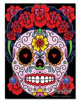 Sunny Buick Frida Calavera Metal Sign