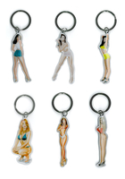Special Buy Pinup Keychains - Carlos Cartagena Pinups