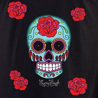 Sunny Buick Rose Sugar Skull Shirt