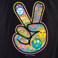 Dan Morris Peace Hand Celestial Shirt