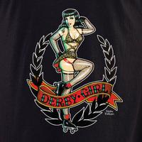 Kirsten Easthope Derby Girl Shirt