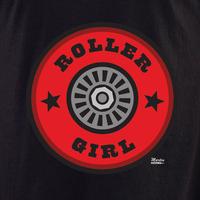 Enginehouse 13 Roller Girl Shirt