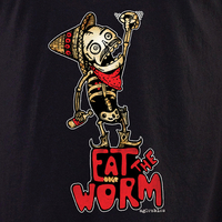 Agorables Eat the Worm Day of the Dead T-shirt