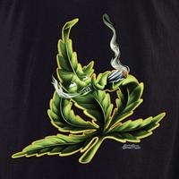 Rollin' Low Smoking Leaf Pot Shirt