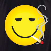 Smokin' Smiley Shirt | Hippie
