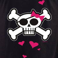 Sweet Fiend Hearts and Skulli Shirt