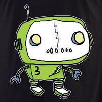 Dr Krinkles Green Robot Shirt