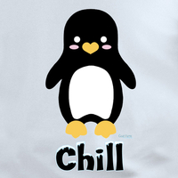 Krisgoat Chill Penguin Shirt