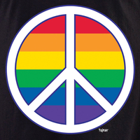 Rainbow Peace Shirt
