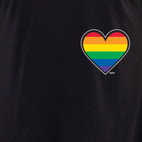 Rainbow Mini Heart T Shirt