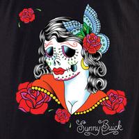 Sunny Buick Lady Sugar Skull Shirt