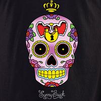 Sunny Buick Heart Lock Sugar Skull Shirt
