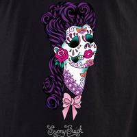 Sunny Buick Lace Sugar Skull Shirt
