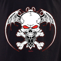 Aftermath Winged Skull T Shirt