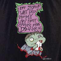 Agorables Bad Zombie Shirt | Undead, Skeletons and Creatures of the Night